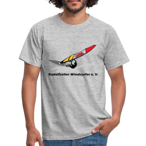 Surfclub Logo mit Schrift - Männer T-Shirt
