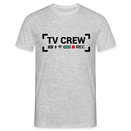 TV Crew - Maglietta da uomo