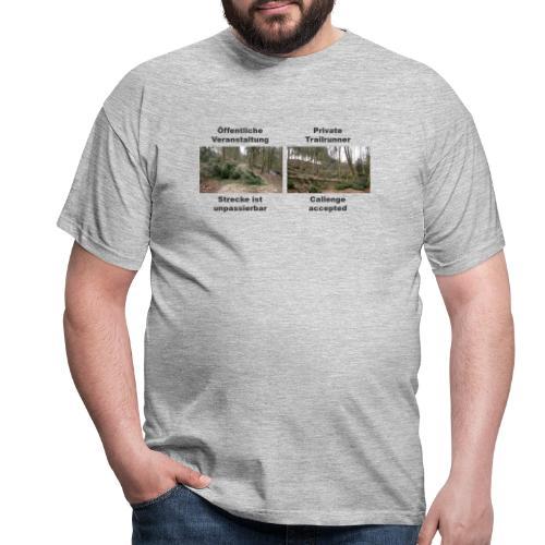 Trailrun Challenge - Männer T-Shirt