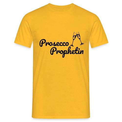 Prosecco Prophetin / Partyshirt / Mädelsabend - Männer T-Shirt