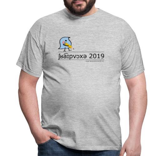 Schreibwoche 2019 (schwarze Schrift) - Männer T-Shirt