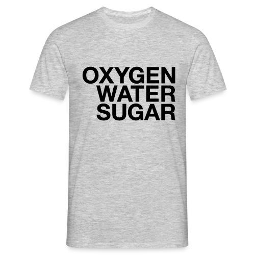 Oxygen water sugar - Herre-T-shirt