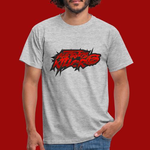 Auftragskillerx2 Schrift - Männer T-Shirt