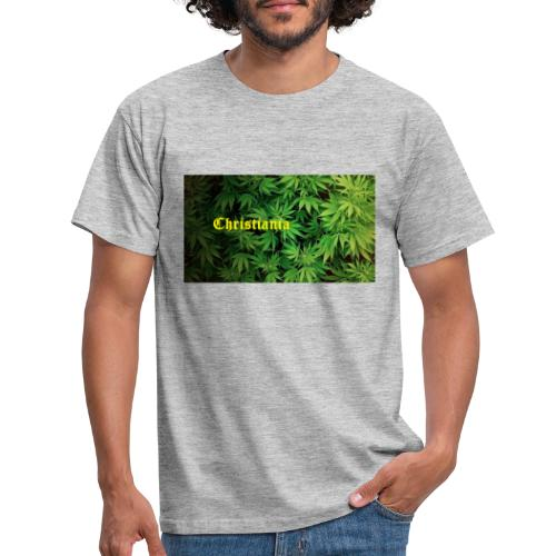 Christiania Hash Logo - Herre-T-shirt