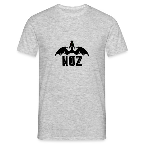 NOZlogoBlack nowhite - Men's T-Shirt