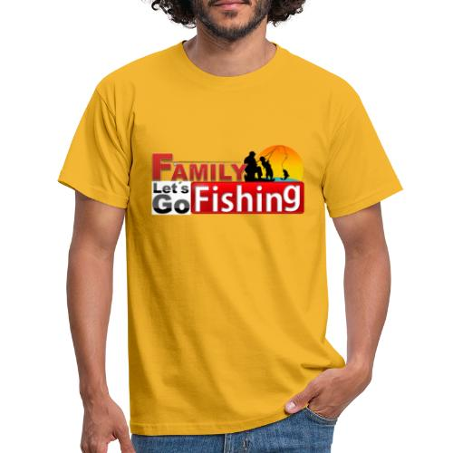 FAMILY LET´S GO FISHING FONDO - Camiseta hombre