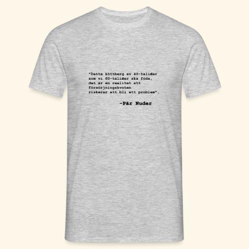 Köttberg - T-shirt herr