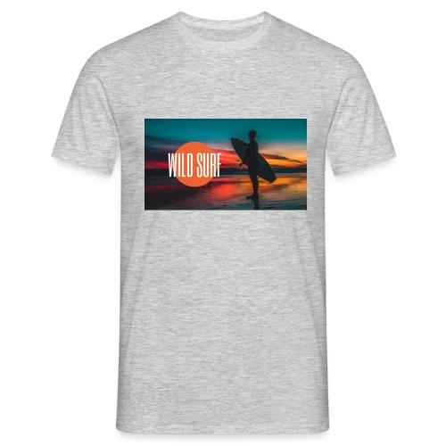 Surf logo - Männer T-Shirt