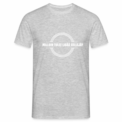 Lisää cellejä valkoinen - Miesten t-paita