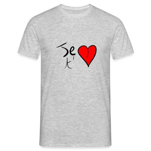 Je t'aime Saint Valentin - T-shirt Homme