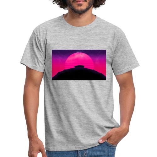 Solnedgång - T-shirt herr