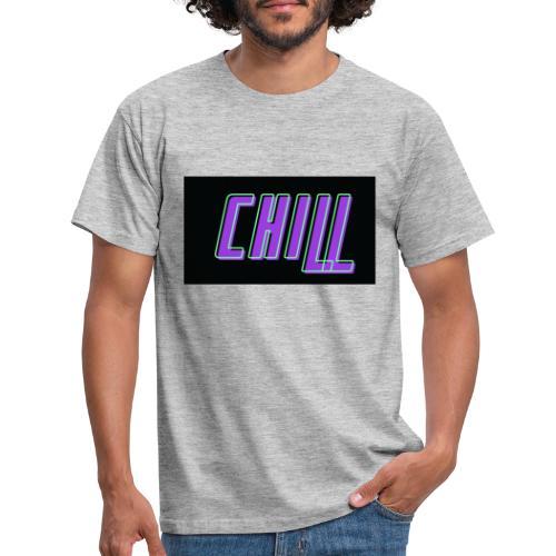 Chill logo - Männer T-Shirt