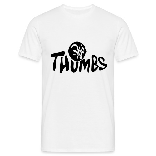 pejo thumbs logo - Men's T-Shirt