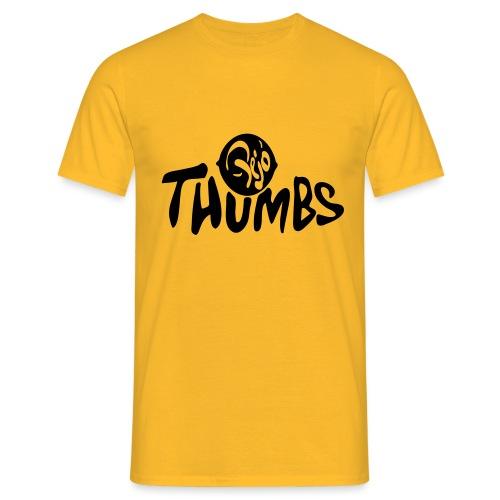 pejo thumbs logo - Men's T-Shirt