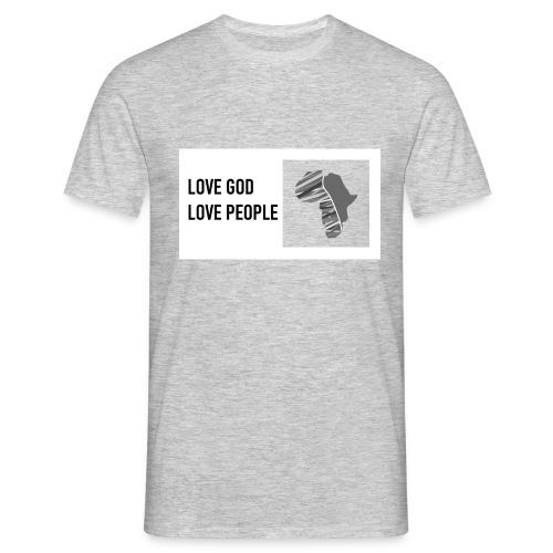Love God - rectangle - Männer T-Shirt
