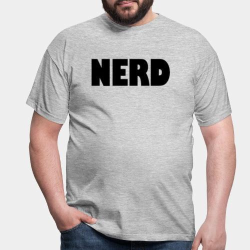 NERD Text Logo Black - Men's T-Shirt