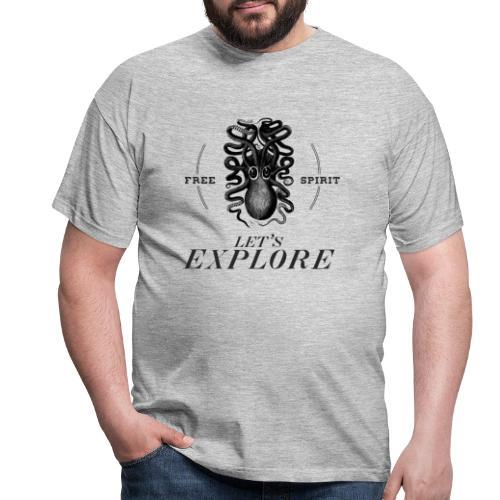 krake - Männer T-Shirt