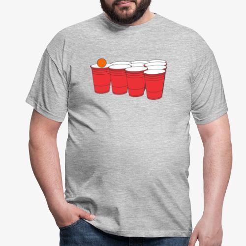 Beerpong Party Motiv T-Shirt - Männer T-Shirt