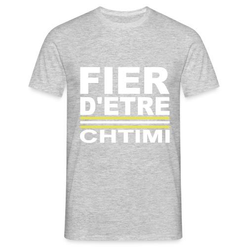 Fier D ETRE Chtimi Noir - T-shirt Homme