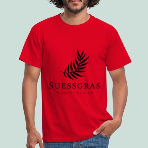 SUESSGRAS BLACK LEAF - Männer T-Shirt
