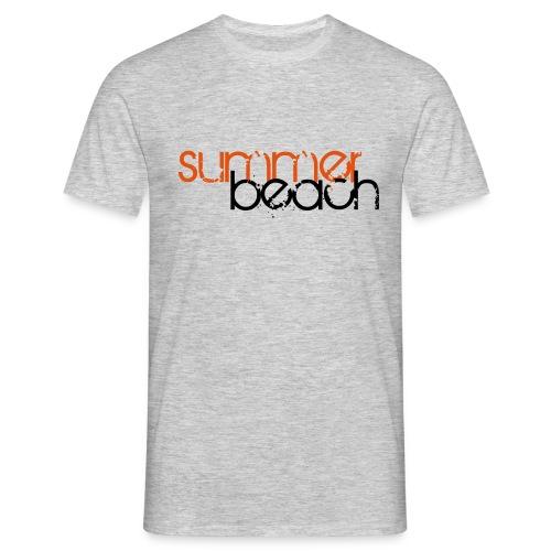 summer beach pfade 1 - Männer T-Shirt
