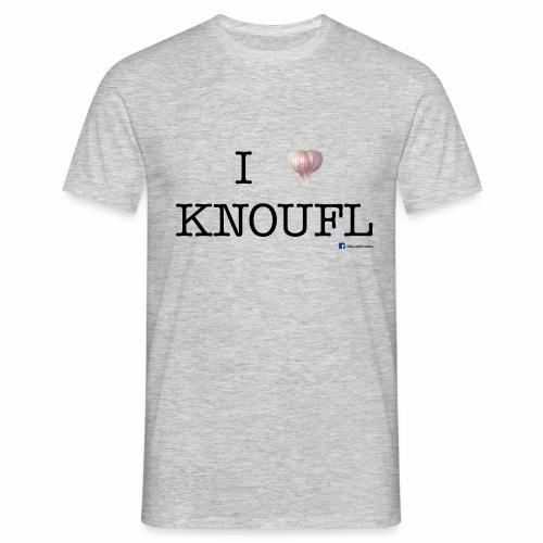 i love knoufl black - Männer T-Shirt