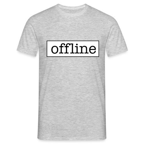 Officially offline - Mannen T-shirt