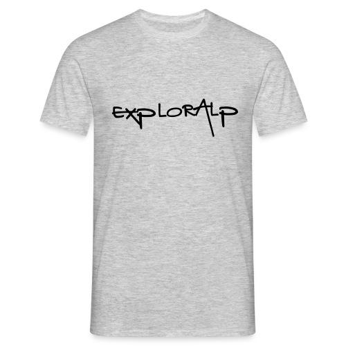 exploralp test oriz - Men's T-Shirt