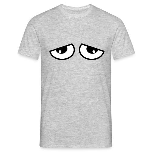 slaap ogen - Mannen T-shirt