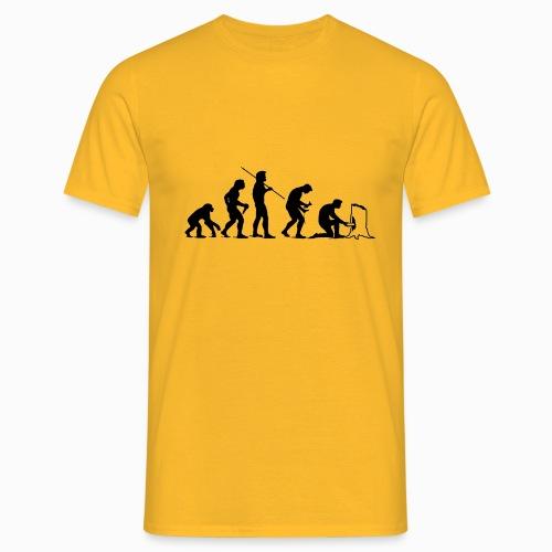 Evolution of Geocaching - Männer T-Shirt