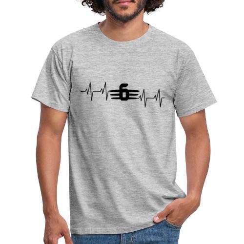 6 big heartbeat K1600 K1600GT K1600GTL K1600B K16 - Männer T-Shirt