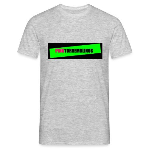 pinklogo - Mannen T-shirt