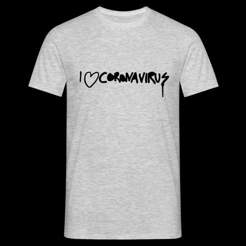 I love CoronaVirus - Männer T-Shirt
