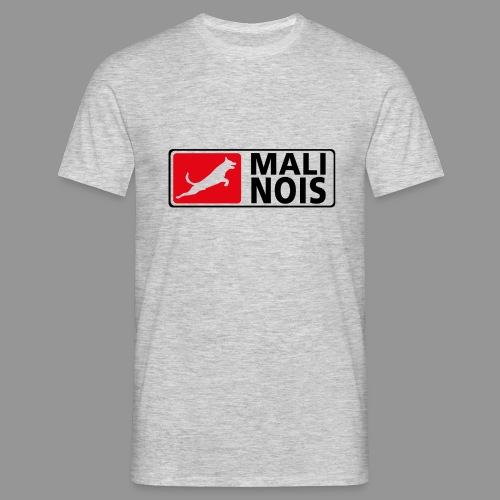 Malinois logo fuer weissen Grund - Männer T-Shirt