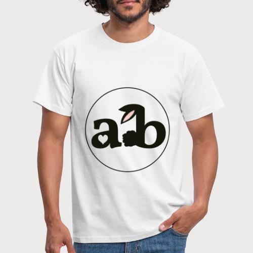 Amour the Bunny Logo - Männer T-Shirt