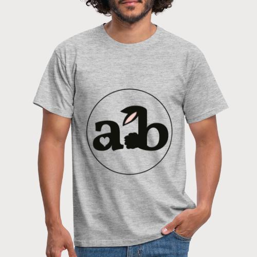 Amour the Bunny Logo - Männer T-Shirt