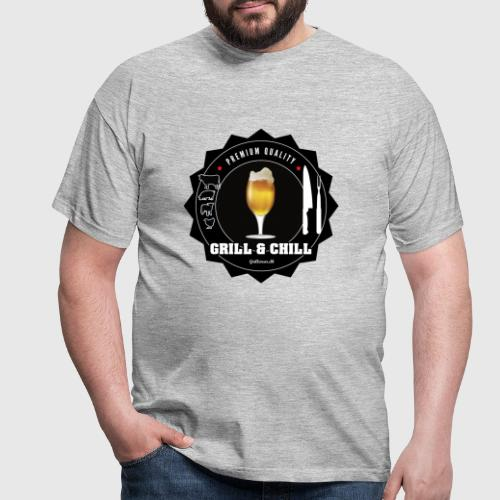 GRILLcHILL png - Herre-T-shirt