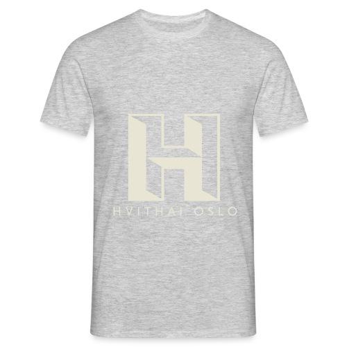 H logo - T-skjorte for menn