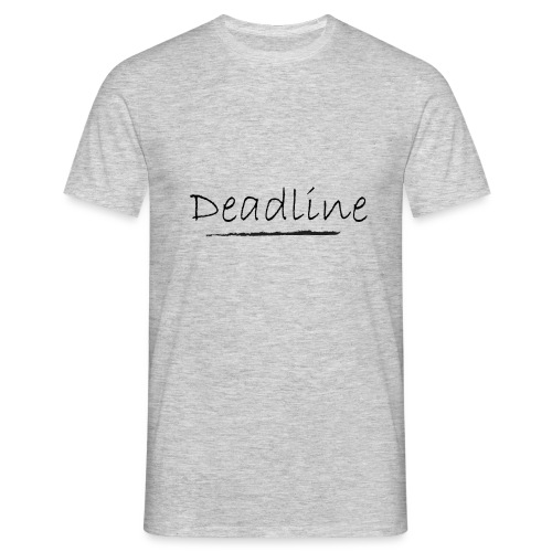 Deadline Rave - Männer T-Shirt