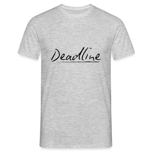 Deadline #3 Techno - Männer T-Shirt
