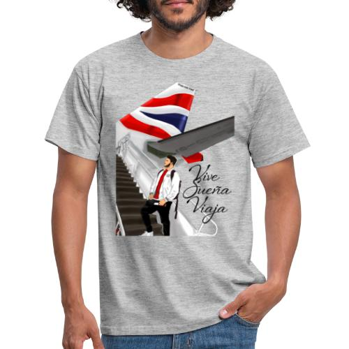 Vive sueña viaja by Viaja con Yoel - Camiseta hombre