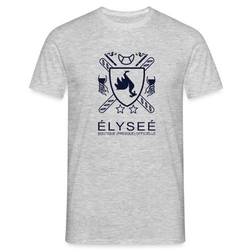 elysee logo droit - T-shirt Homme