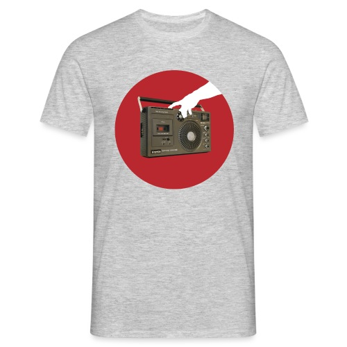 Press My Hungry Button - Men's T-Shirt
