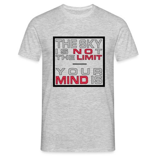 No Limit Mind - Männer T-Shirt
