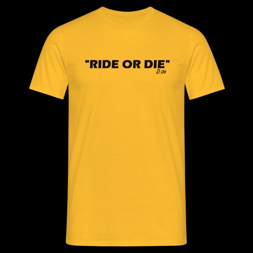Ride or die (noir) - T-shirt Homme