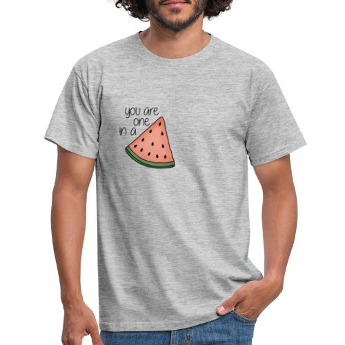 You are one in a melon - T-shirt herr