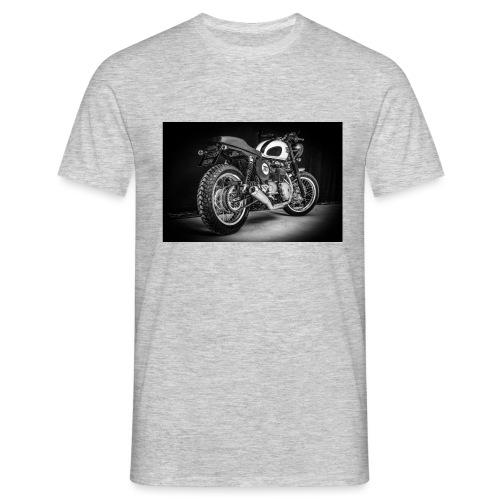 Monia's Thruxton 'Performance Scrambler' - Men's T-Shirt