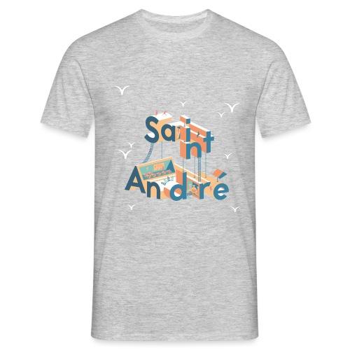 T-Shirt Vie À Saint André 107 - T-shirt Homme