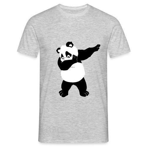 Dabbing Panda Bär - Männer T-Shirt