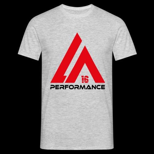 LA Performance red/black - Männer T-Shirt